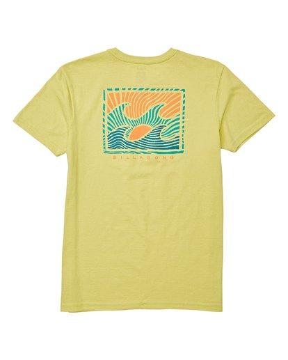 1 Boys' Dawn Patrol Short Sleeve T-Shirt Green B404WBDP Billabong