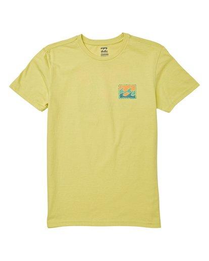 0 Boys' Dawn Patrol Short Sleeve T-Shirt Green B404WBDP Billabong