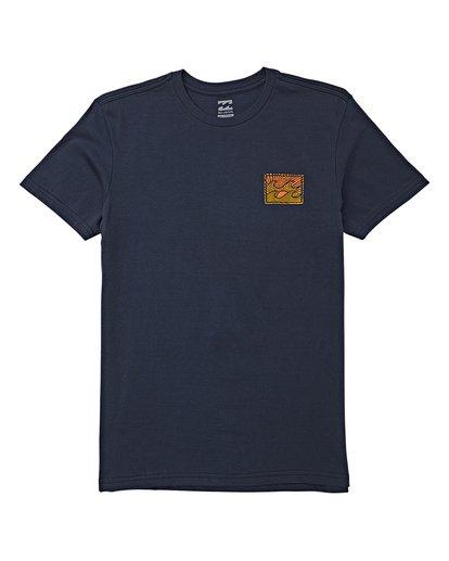 0 Boys' Dawn Patrol Short Sleeve T-Shirt Blue B404WBDP Billabong