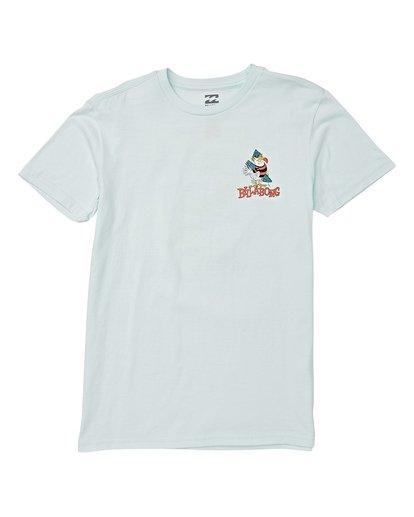 0 Boys' Local Short Sleeve T-Shirt Blue B404WBLO Billabong