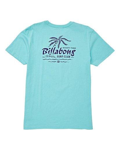 1 Boys' Club Short Sleeve T-Shirt Grey B404WBPH Billabong