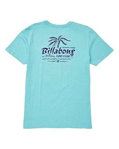 1 Boys' Club Short Sleeve T-Shirt Blue B404WBPH Billabong