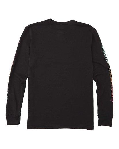 1 Boys' Dbah Long Sleeve T-Shirt Black B4053BDB Billabong