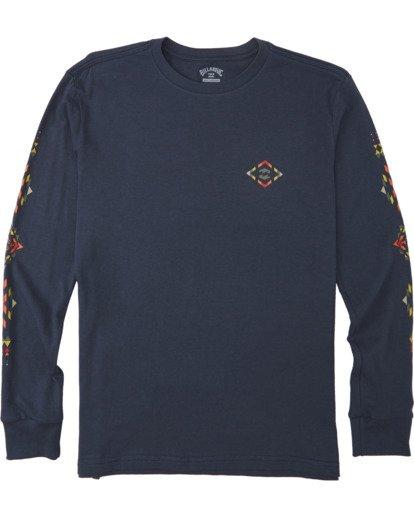 0 Boys' Dbah Long Sleeve T-Shirt Blue B4053BDB Billabong