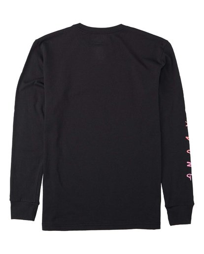 1 Boys' Unite Long Sleeve T-Shirt Black B4053BUT Billabong