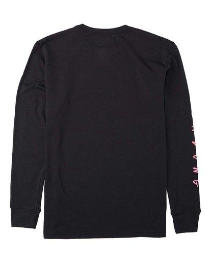 1 Boys' Unite Long Sleeve T-Shirt Black B4053BUT Billabong