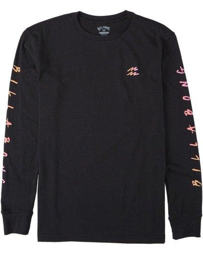 0 Boys' Unite Long Sleeve T-Shirt Black B4053BUT Billabong