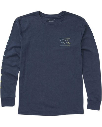 0 Boys' Unity Sleeves Long Sleeve T-Shirt  B405TBUS Billabong