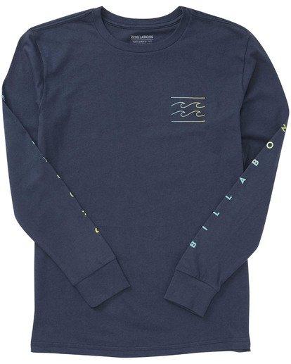 1 Boys' Unity Sleeves Long Sleeve T-Shirt  B405TBUS Billabong