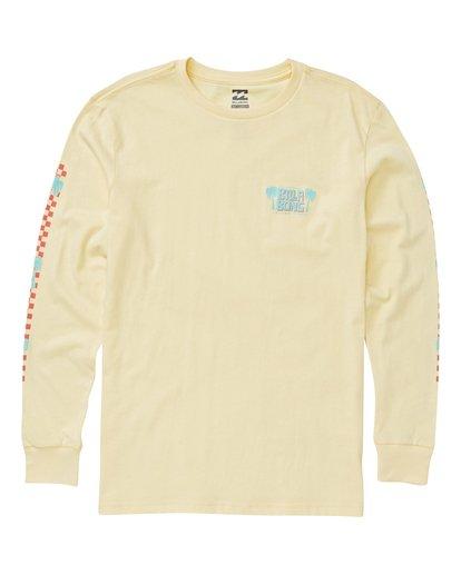 0 Boys' Calypso Long Sleeve T-Shirt Yellow B405VBCA Billabong