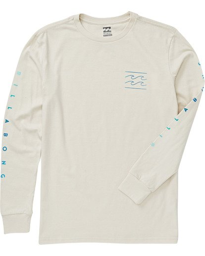 2 Boys' Unity Long Sleeve T-Shirt Brown B405VBUN Billabong