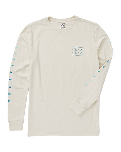 1 Boys' Unity Long Sleeve T-Shirt Brown B405VBUN Billabong