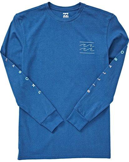 1 Boys' Unity Long Sleeve T-Shirt Blue B405VBUN Billabong