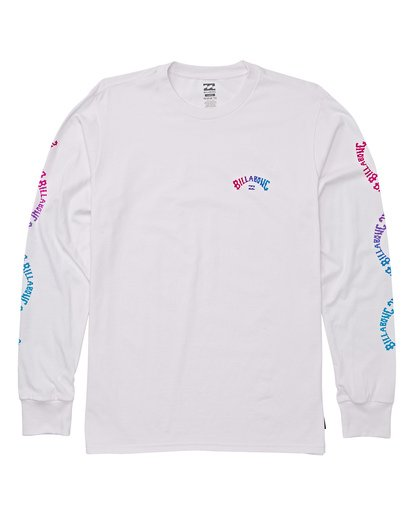 0 Boys' Arch Link Long Sleeve T-Shirt White B405WBAL Billabong