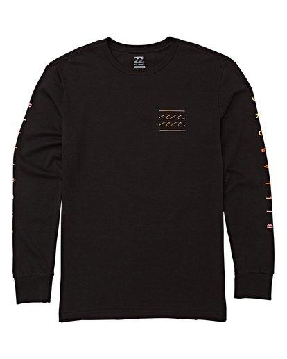 0 Boys' Unity Long Sleeve T-Shirt Black B405WBUN Billabong