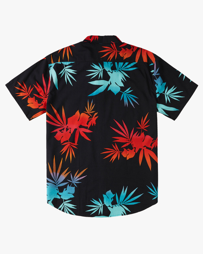 1 Boys' Sundays Floral Short Sleeve Shirt Multicolor B5043BSF Billabong