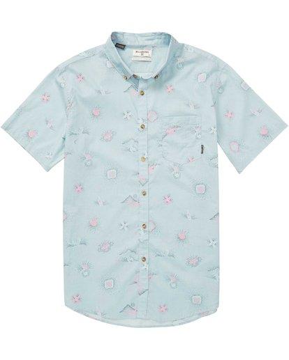 Billabong Boys Sundays Mini Short Sleeve Shirt