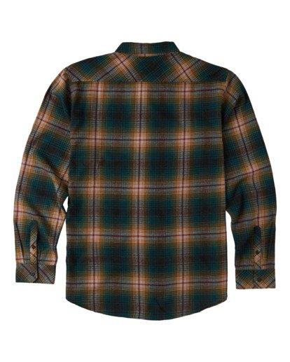 1 Boys' Coastline Flannel Shirt Black B5323BCO Billabong