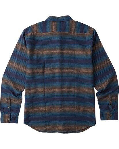 1 Boys' Coastline Flannel Shirt Blue B5323BCO Billabong