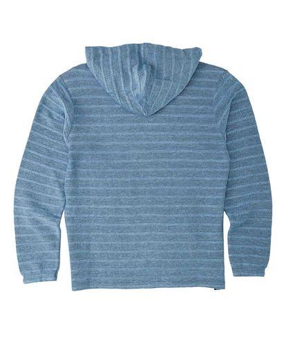 1 Boys' Flecker Lite Pullover Blue B6403BLI Billabong