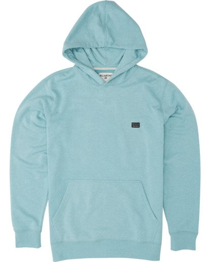0 Boys' All Day Pullover Hoodie Black B640VBAP Billabong
