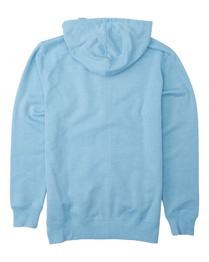1 Boys' All Day Zip Hoodie Blue B6603BAZ Billabong