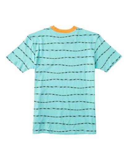 1 Boys' Truffula Trunk Crew T-Shirt Green B9042BTR Billabong