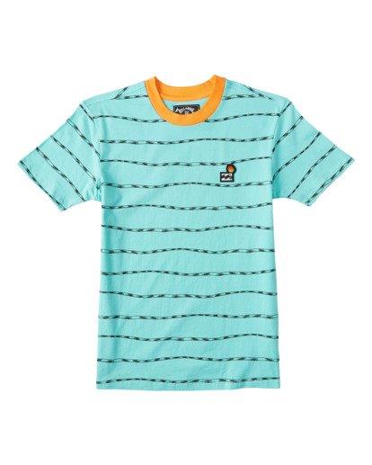 0 Boys' Truffula Trunk Crew T-Shirt Green B9042BTR Billabong