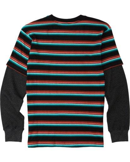 1 Boys' Die Cut Twofer Shirt Black B9053BTW Billabong
