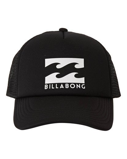 1 Boys' Podium Trucker Hat Black BAHTGPOD Billabong