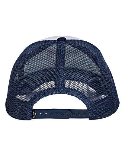 3 Boys' Podium Trucker Hat Blue BAHTGPOD Billabong