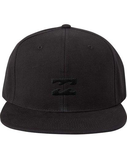 1 Boys' All Day Snapback Hat Grey BAHTLADS Billabong