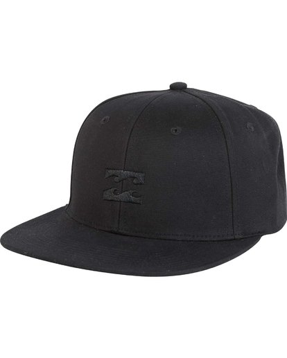 0 Boys' All Day Snapback Hat Grey BAHTLADS Billabong