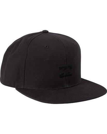 2 Boys' All Day Snapback Hat Grey BAHTLADS Billabong