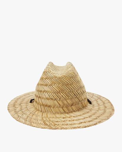2 Boys' Tides Lifeguard Hat White BAHW1BTI Billabong