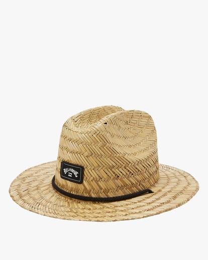 1 Boys' Tides Lifeguard Hat White BAHW1BTI Billabong
