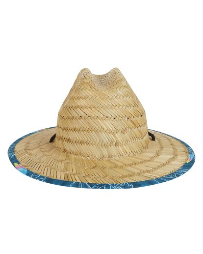 2 Boys' Tides Print Lifeguard Hat Blue BAHW1BTP Billabong