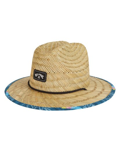 1 Boys' Tides Print Lifeguard Hat Blue BAHW1BTP Billabong
