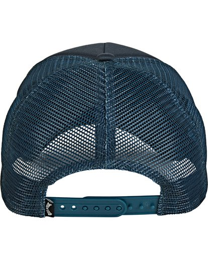 2 Boys' Stage Trucker Hat Blue BAHW2BST Billabong