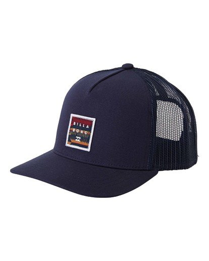 0 Boys' Stacked Trucker Blue BAHW3BST Billabong