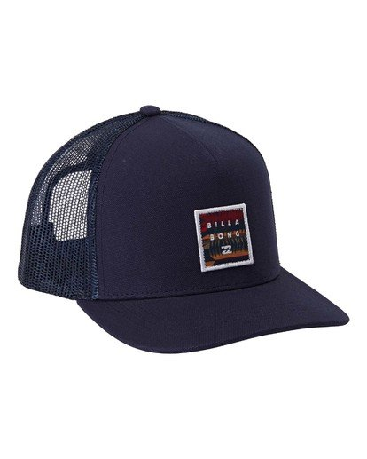 2 Boys' Stacked Trucker Blue BAHW3BST Billabong