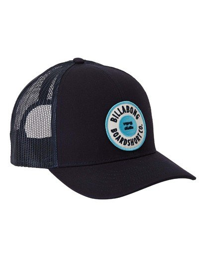 2 Boys' Walled Trucker Hat Blue BAHW3BWA Billabong