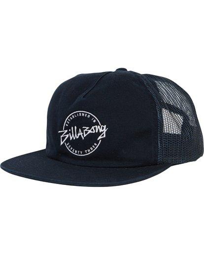 0 Boys' Breakdown Trucker Hat  BAHWSBBR Billabong