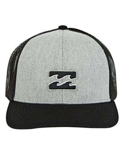 1 Boys' All Day Trucker Hat Grey BAHWTBAD Billabong