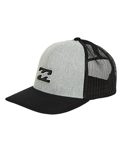 0 Boys' All Day Trucker Hat Grey BAHWTBAD Billabong