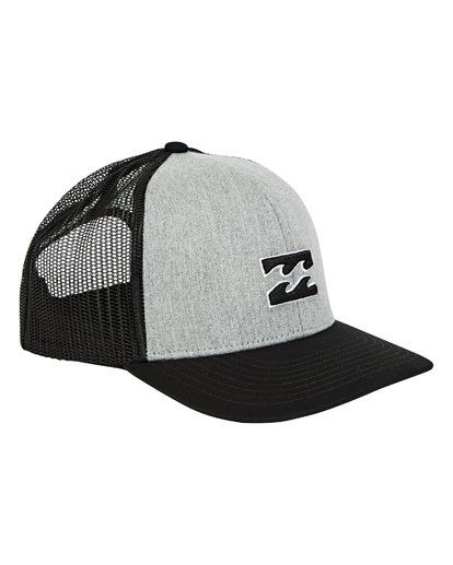 2 Boys' All Day Trucker Hat Grey BAHWTBAD Billabong