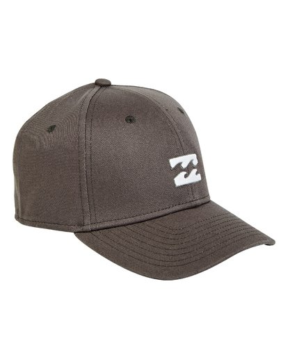 2 Boys' All Day Stretch Hat Grey BAHWTBAT Billabong