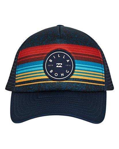 1 Boys' Scope Trucker Hat Blue BAHWTBST Billabong