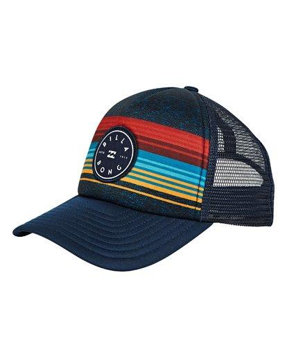 0 Boys' Scope Trucker Hat Blue BAHWTBST Billabong