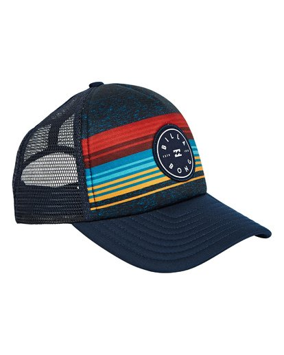 2 Boys' Scope Trucker Hat Blue BAHWTBST Billabong